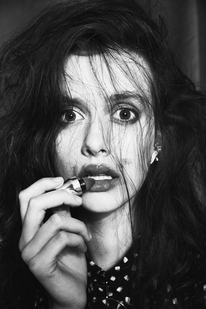 Photo Maquillage et Coiffure Noir et Blanc