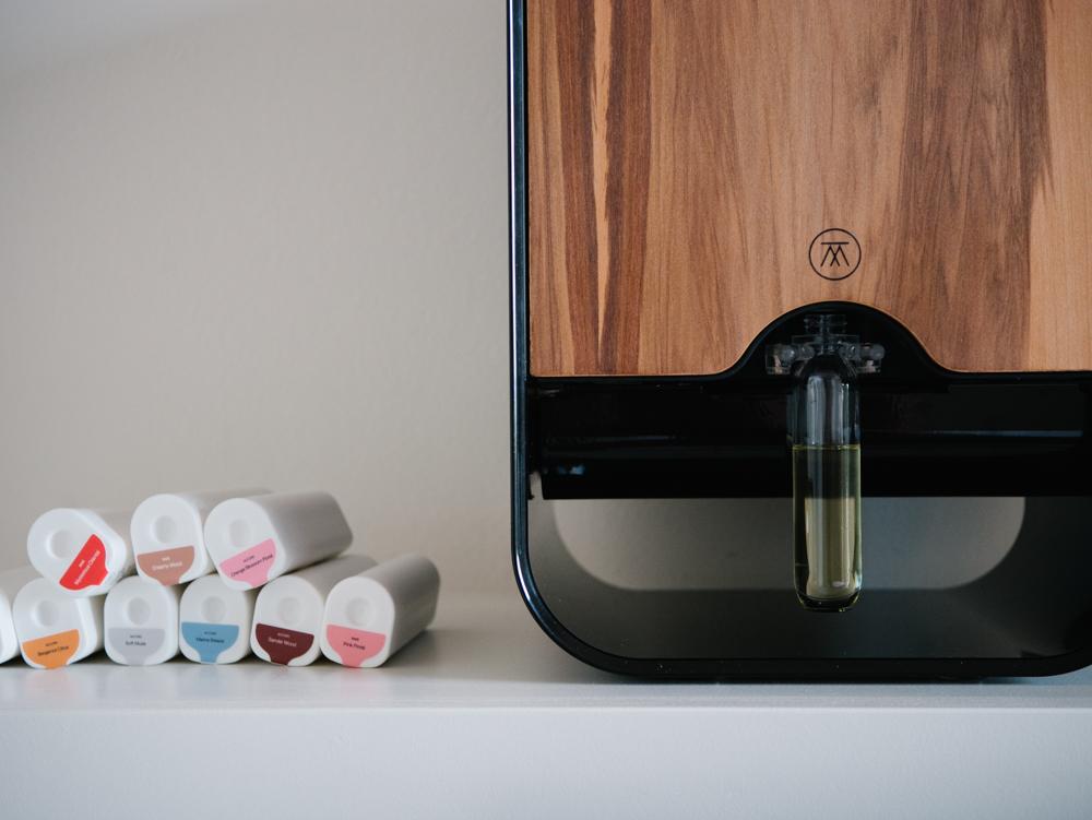 Le Scent Creator et les cartouches de fragrances