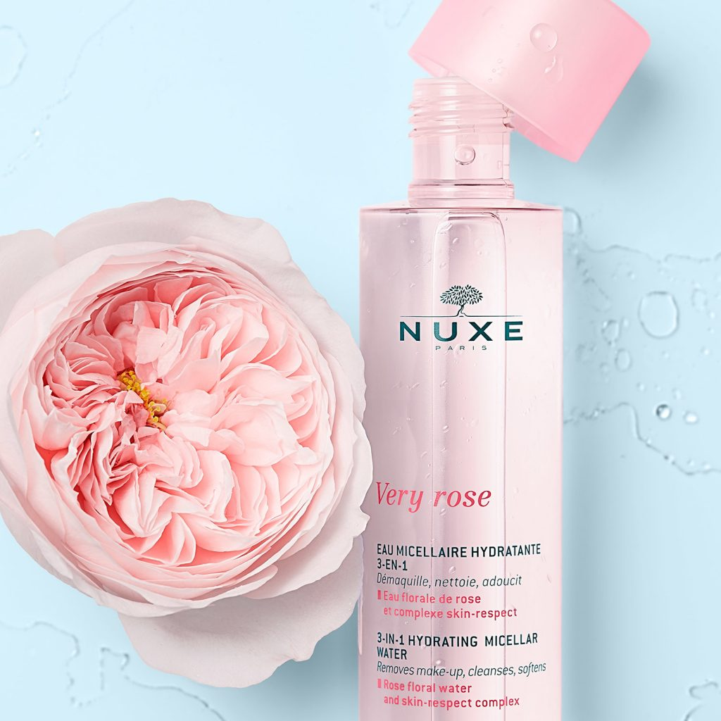 Gamme VERY ROSE Nuxe